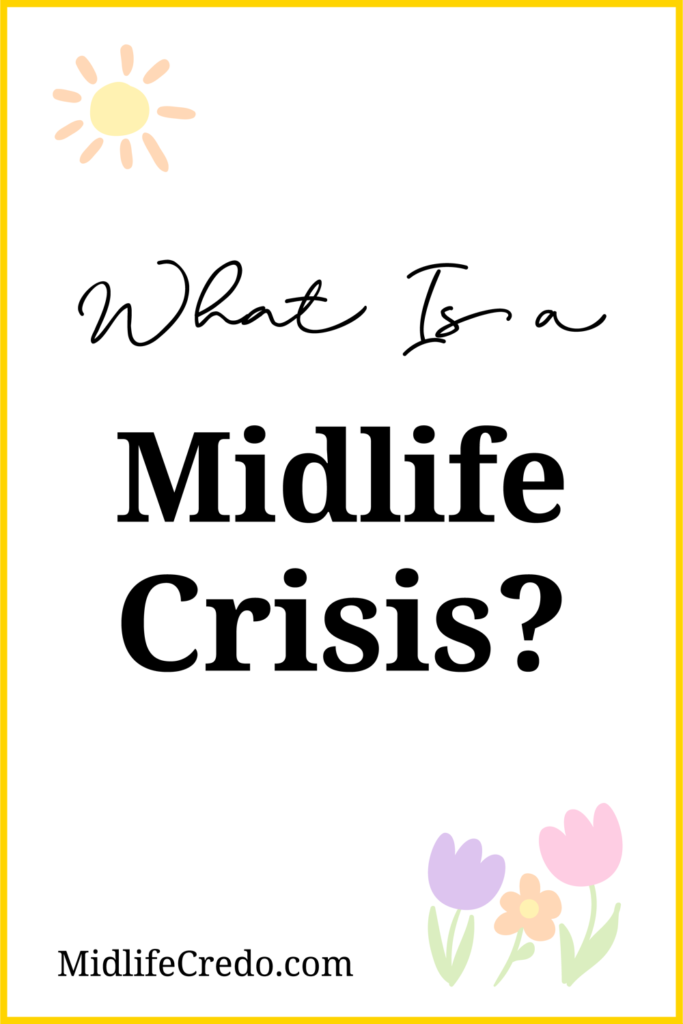 What is midlife crisis pinterest image 2